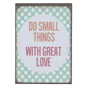 Magneet, do small things...