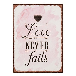 Magneet, love never fails