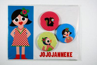 Jojojanneke Stoere buttons   Hertje, Boerin, etc