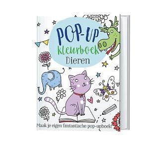 Kleurboek, pop-up dieren