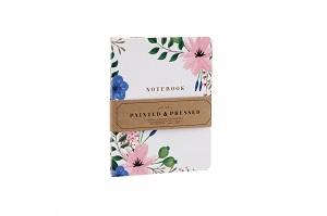 Notebook bloemen