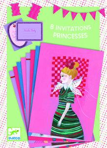 Djeco  Uitnodigingen meisjes