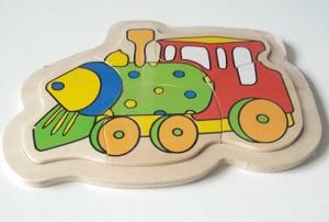 Puzzel trein