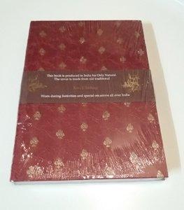 Notebook met sari kaft