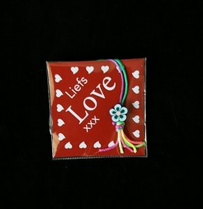 Kaartje, liefs love xxx