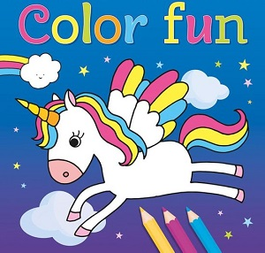 Color fun, kleurboek unicorns
