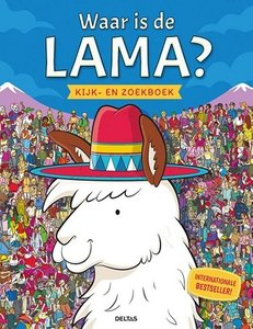 Waar is de lama? Kijk- en zoekboek