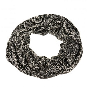 Sjaal, col zwart/wit