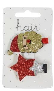 Haarclips, kerst