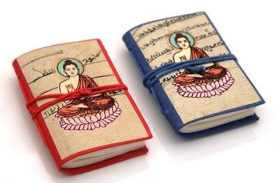 Mini notitie boekje Boedha