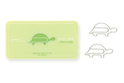 Paperclips schildpad