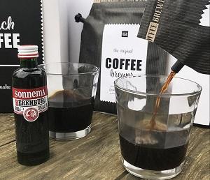 Dutch coffee met Berenburg en kruidenbitter