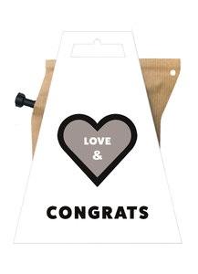 Love & congrats, koffie