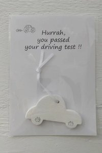 Hurrah, you passed your driving test!!