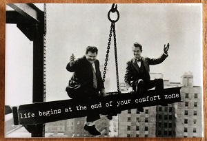 Magneet, life begins at the end of your comfort zone