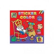 Sticker/kleurboek Sinterklaas