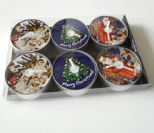 Kerstmix Maria, waxinelichtjes