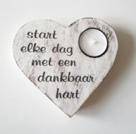 Start elke dag met een dankbaar hart