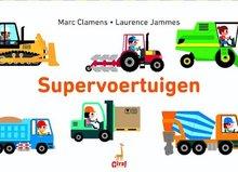 Supervoertuigen pop-up boek