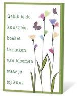 Geluk is de kunst, zaadjes voor de tuin