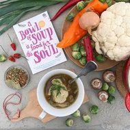 A bowl of soup is food for the soul