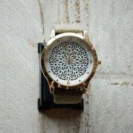 Horloge bruin/groen
