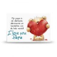 Magneet, i love you papa