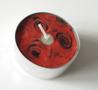 Maxi waxinelicht roos