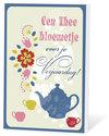 Een-thee-bloemetje-voor-je-verjaardag(thee-en-een-kaartje)