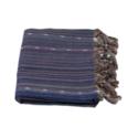 Hamamdoek streep mix blauw