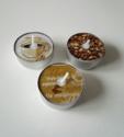 Koffie, waxinelichtjes