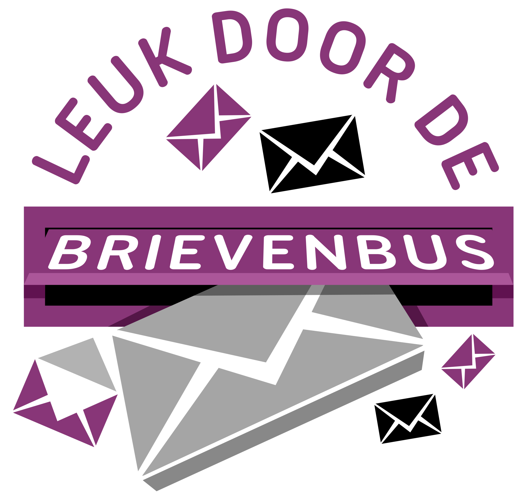Logo Leukdoordebrievenbus.nl